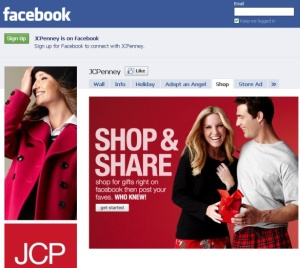 JC Penney Facebook Store